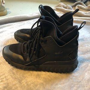 Adidas Tubular High Top Shoe